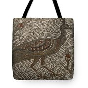 Peacock And Flowers Tote Bag