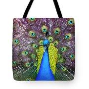 Peacock Art Tote Bag