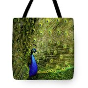Peacock At Frankenmuth Michigan Tote Bag
