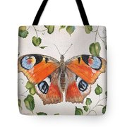 Peacock Butterfly-jp3878 Tote Bag