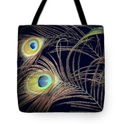 Peacock Feathers -1 Tote Bag