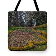 Peacock Garden Tote Bag