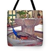 Peacock - Havana Cuba Tote Bag