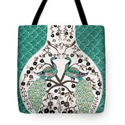 Peacock Love-2 Tote Bag