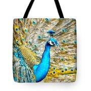 Peacock Paradise Tote Bag
