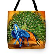 Peacock Pegasus Tote Bag