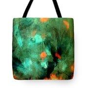 Peacock Rising Tote Bag