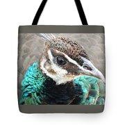 Peacocks Eye View Tote Bag