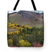 Peak To Peak Highway Boulder County Colorado Autumn View Tote Bag