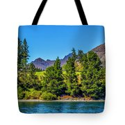Peaking Through Tote Bag