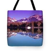 Peaks In The Mirror Tote Bag