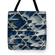 Pealing Paint Fence Abstract 1 Tote Bag