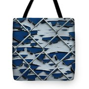 Pealing Paint Fence Abstract 2 Tote Bag