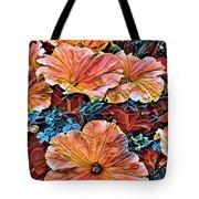 Peanies Flower Blossom Tote Bag