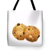 Peanut Butter Chocolate Chip Cookies Tote Bag