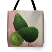 Pear And Avocados Tote Bag
