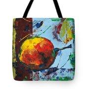 Pear And Sun Tote Bag