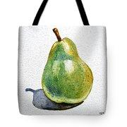 Pear Tote Bag by Irina Sztukowski