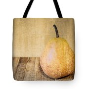 Pear On Cutting Board 2.0 Tote Bag
