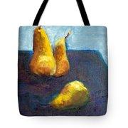 Pear Plus One Tote Bag