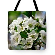 Pear Tree Blossoms 1 Tote Bag