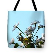 Pear Tree Blossoms 5 Tote Bag