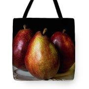 Pear Trio Still Life Tote Bag