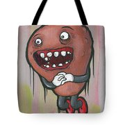 Pear Troll Tote Bag