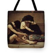 Pearce C S The Death Of The First Born Tote Bag
