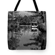 Pearl Bw Tote Bag