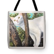 Pearl Up A Tree Tote Bag