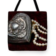Pearls From The Heart Tote Bag