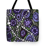 Pearls In The Garden Tote Bag