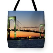 Pearls In The Sky Tote Bag