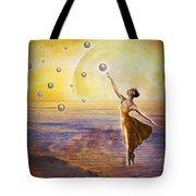 Pearls Of Heaven Tote Bag