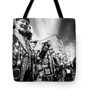 Pearly Kings And Queens Of London Hoxton Brick Lane Tote Bag