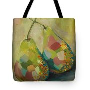 Pears A La Klimt Tote Bag