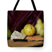 Pears And Cheese Tote Bag