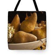 Pears And Hydrangea Still Life  Tote Bag