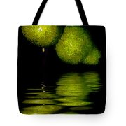 Pears And Its Reflection Tote Bag
