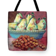Pears In A Bowl Tote Bag