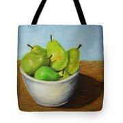 Pears In Bowl 2 Tote Bag