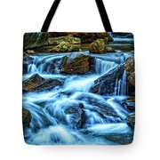 Pearsons Falls On Colt Creek Tote Bag