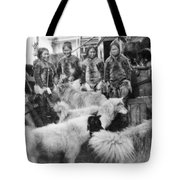 Peary Expedition, C1908 Tote Bag