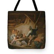 Peasant Brawl In A Tavern Tote Bag
