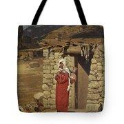 Peasant Carrying Water Tote Bag