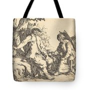 Peasant Couple At Rest Tote Bag