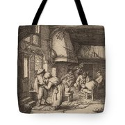 Peasant Settling His Debt Tote Bag