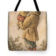 Peasant With Child Tote Bag