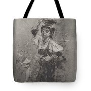 Peasant Woman Of The Campagna [ciociara] Tote Bag